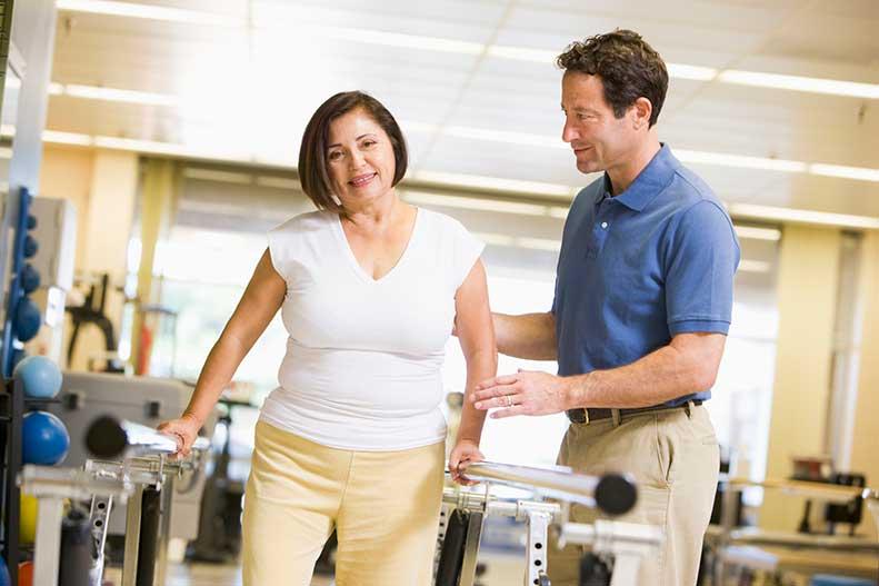 fisioterapia de rehabilitación industrial